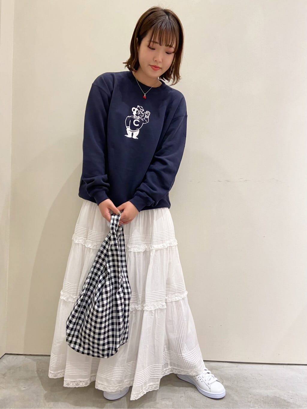 Dot and Stripes CHILD WOMAN CHILD WOMAN , PAR ICI 新宿ミロード 身長:160cm 2021.09.06