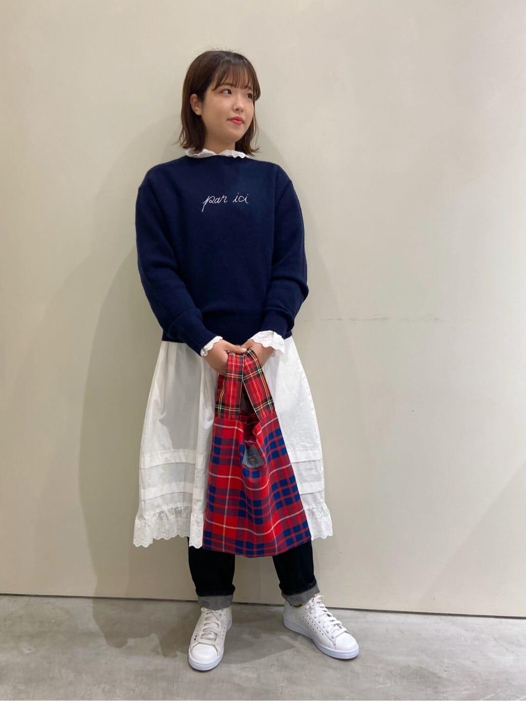 Dot and Stripes CHILD WOMAN CHILD WOMAN , PAR ICI 新宿ミロード 身長:160cm 2021.10.03