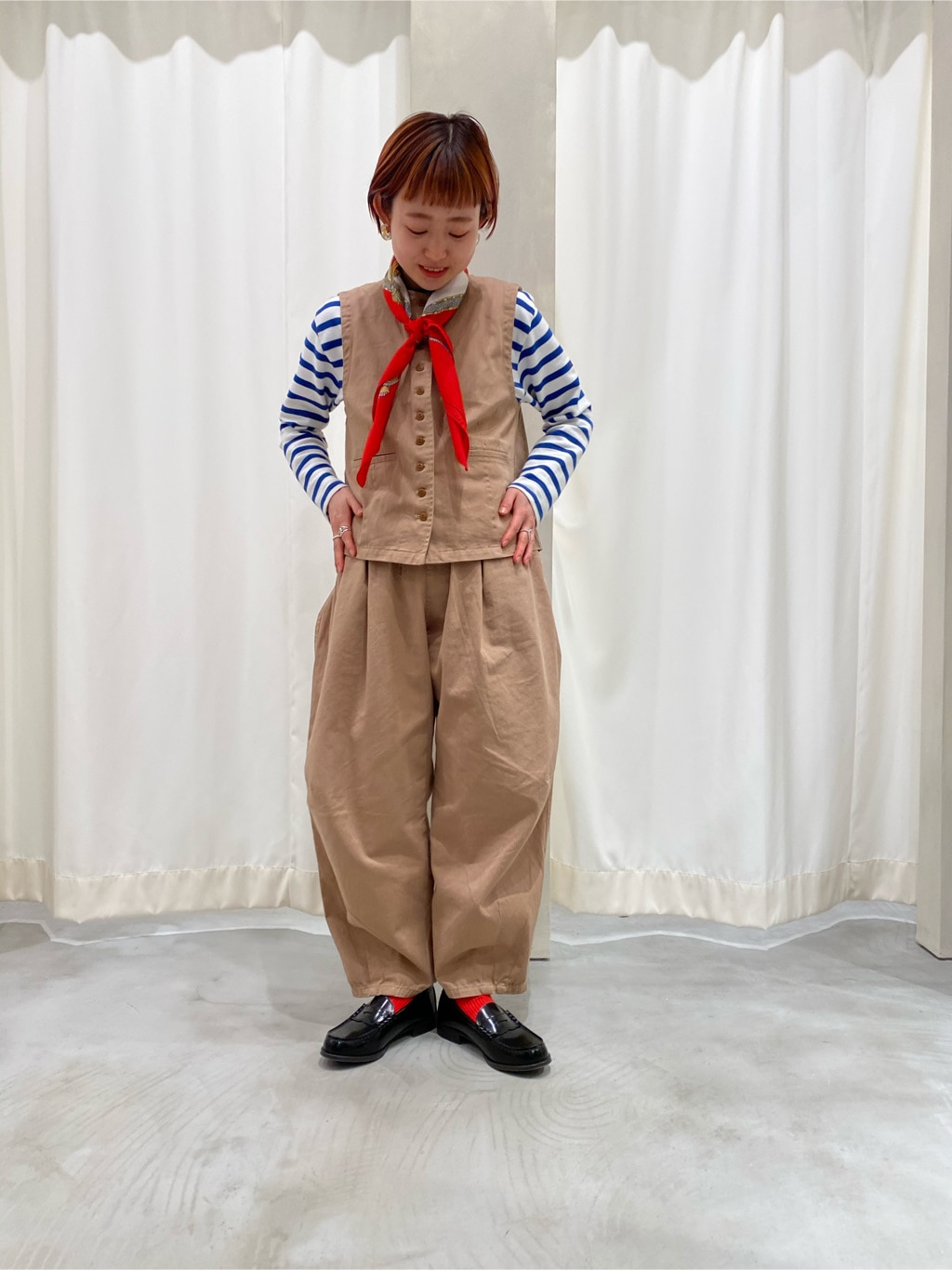 Dot and Stripes CHILD WOMAN 新宿ミロード 身長:150cm 2020.04.30
