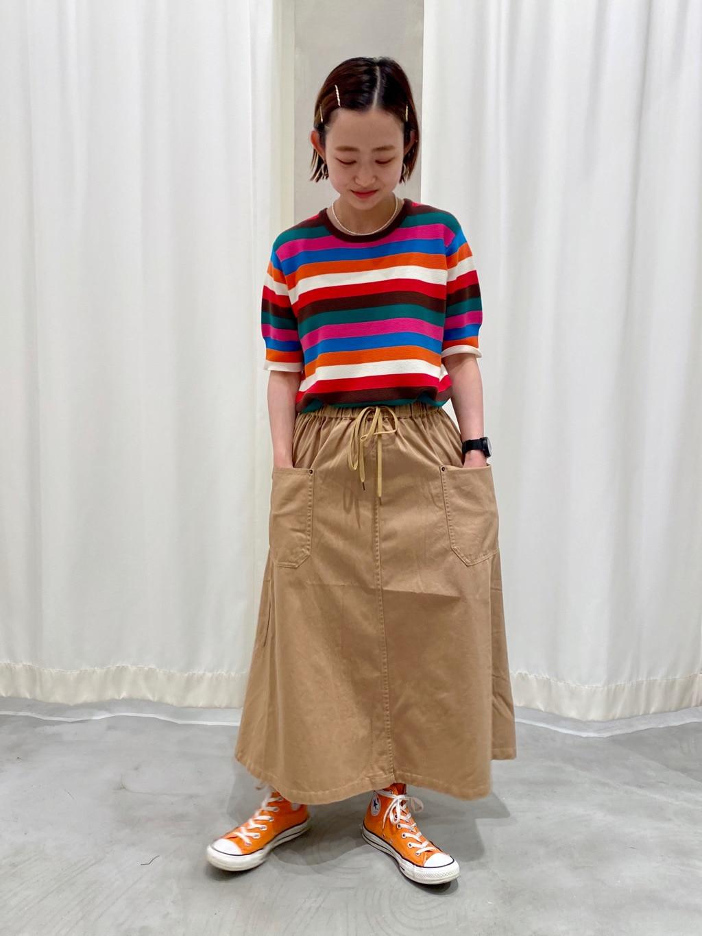 AMB SHOP CHILD WOMAN CHILD WOMAN , PAR ICI 東京スカイツリータウン・ソラマチ 身長:150cm 2020.07.22