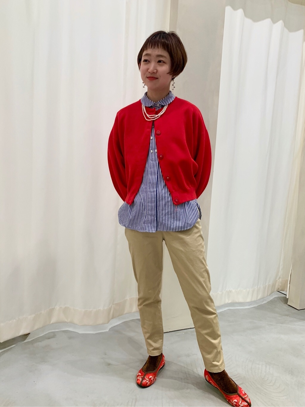 Dot and Stripes CHILD WOMAN 新宿ミロード 身長:150cm 2020.03.24