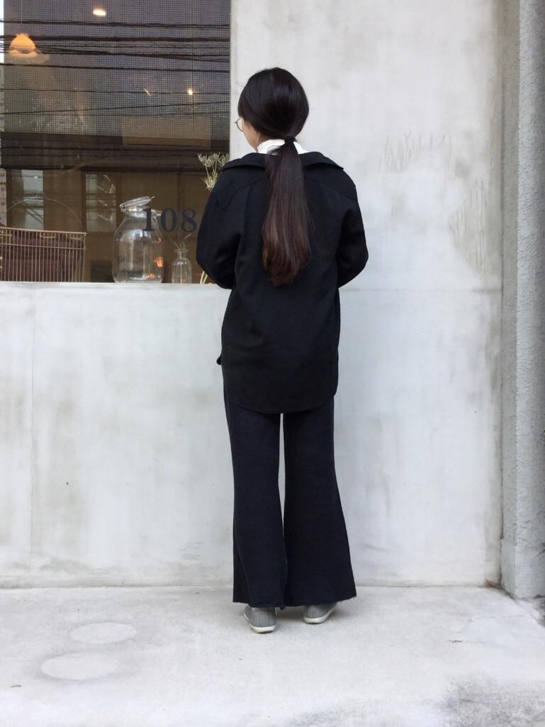 108 yuni / bulle de savon 福岡薬院路面 身長:162cm 2019.10.31