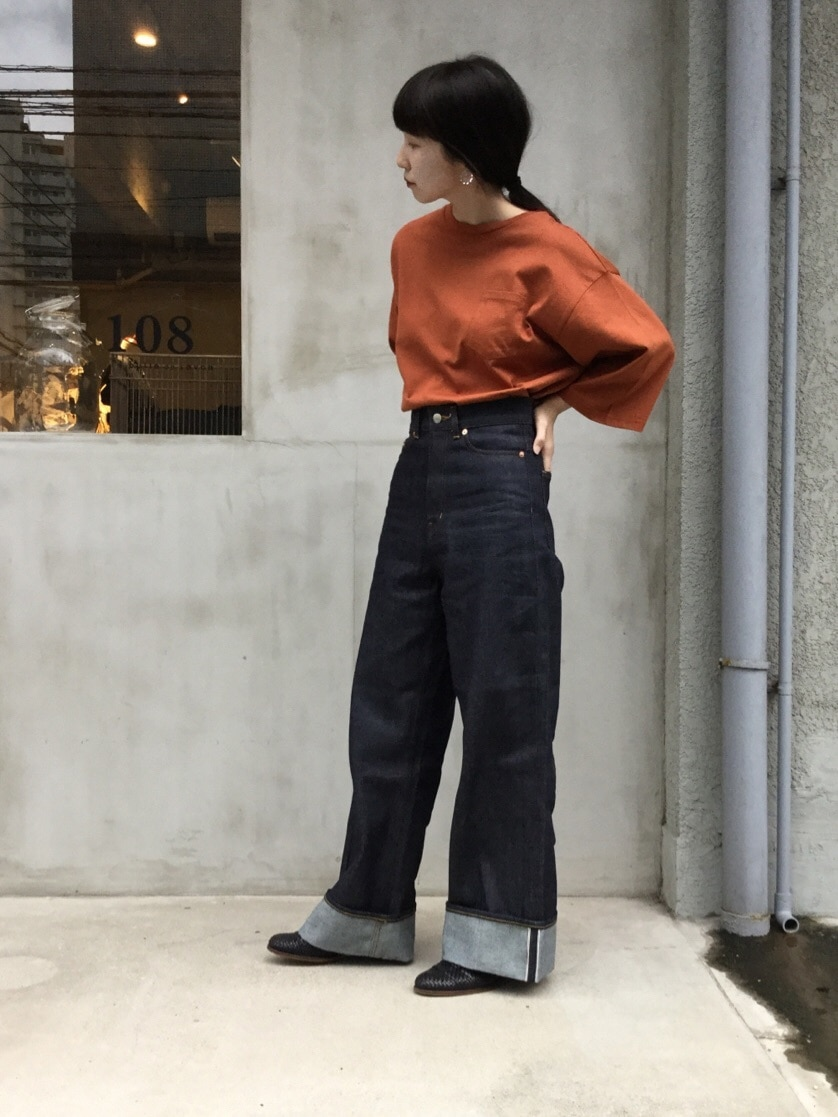 108 yuni / bulle de savon 福岡薬院路面 身長:162cm 2019.09.06