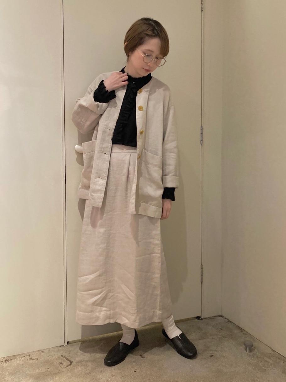 108 yuni / bulle de savon 福岡薬院路面 身長:162cm 2021.02.03
