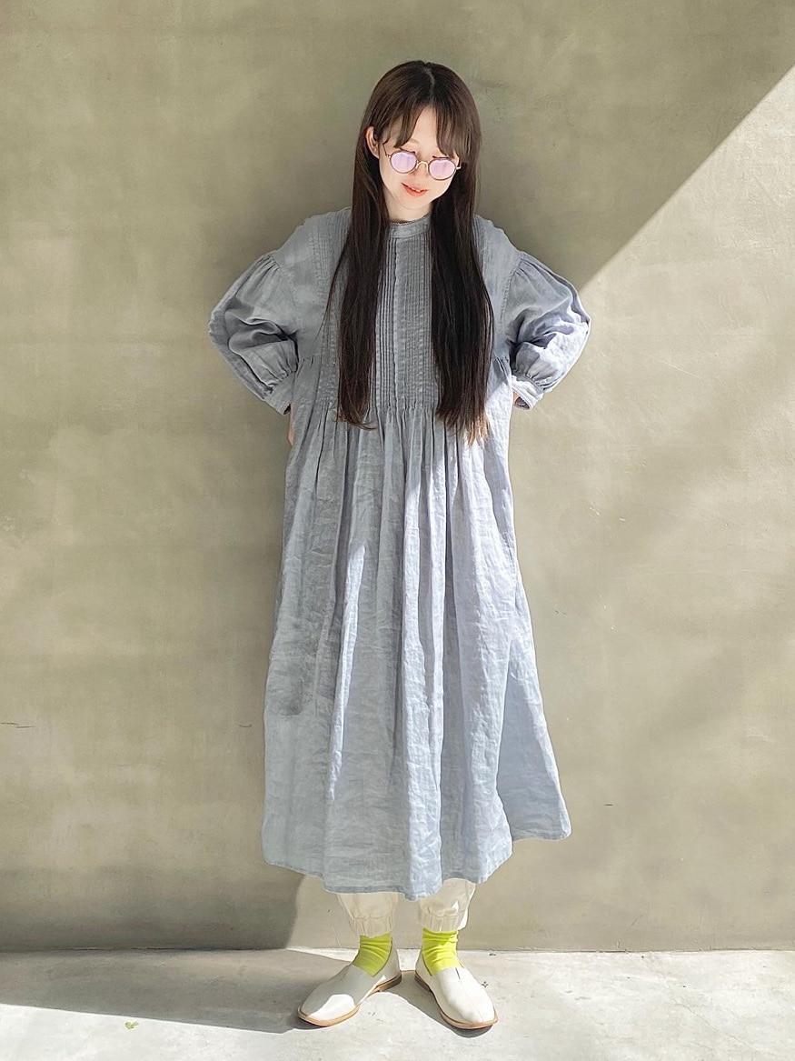 108 yuni / bulle de savon 福岡薬院路面 身長:162cm 2021.03.04