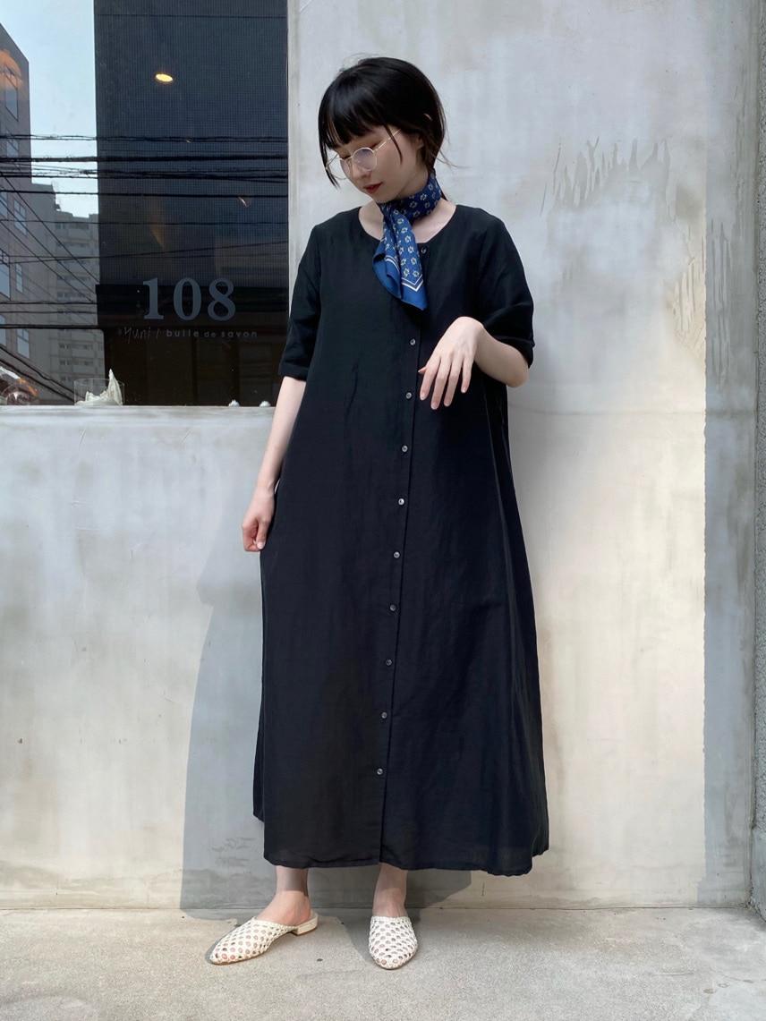 108 yuni / bulle de savon 福岡薬院路面 身長:162cm 2020.08.26