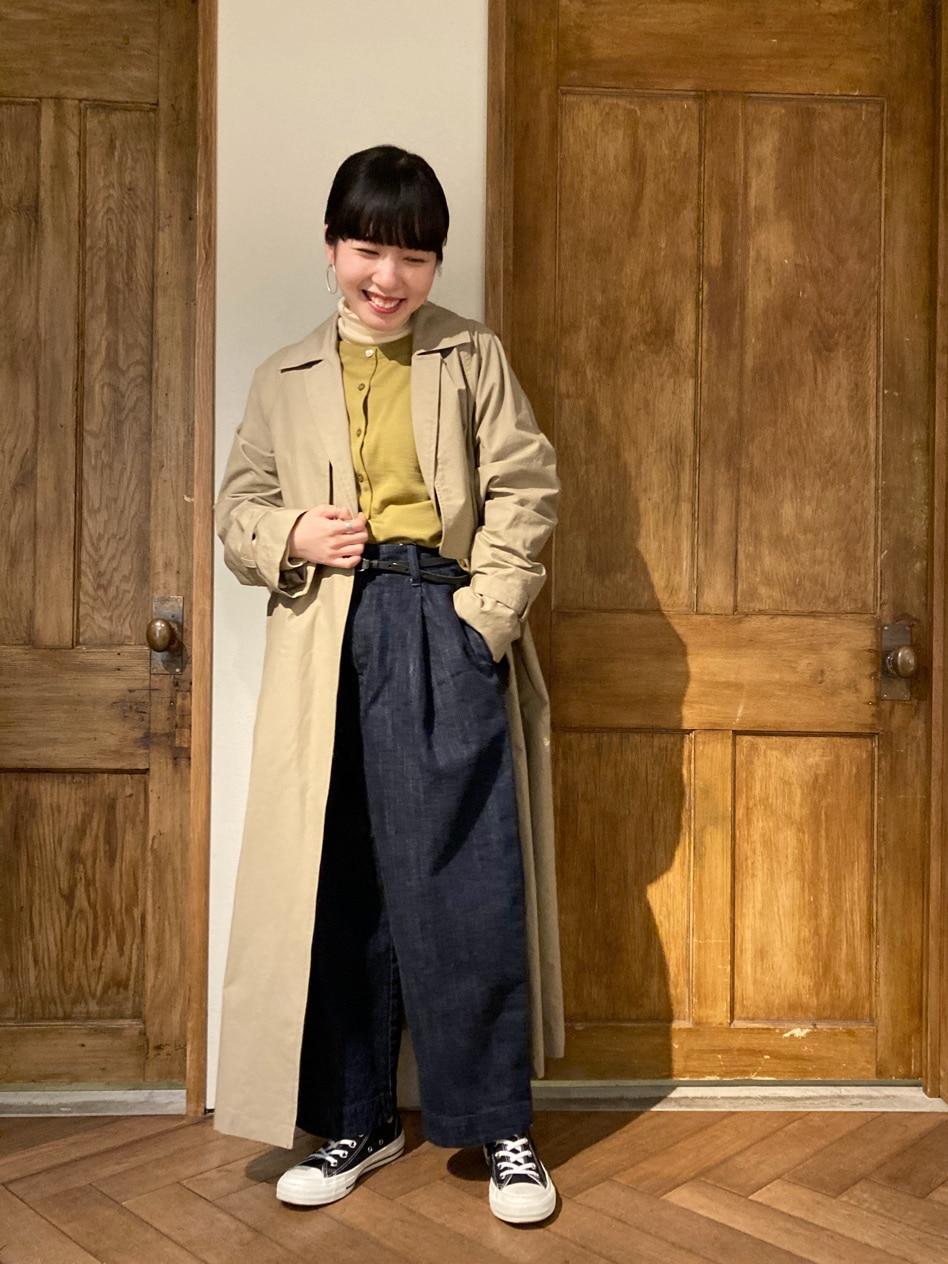 yuni 京都路面 身長:152cm 2021.01.21
