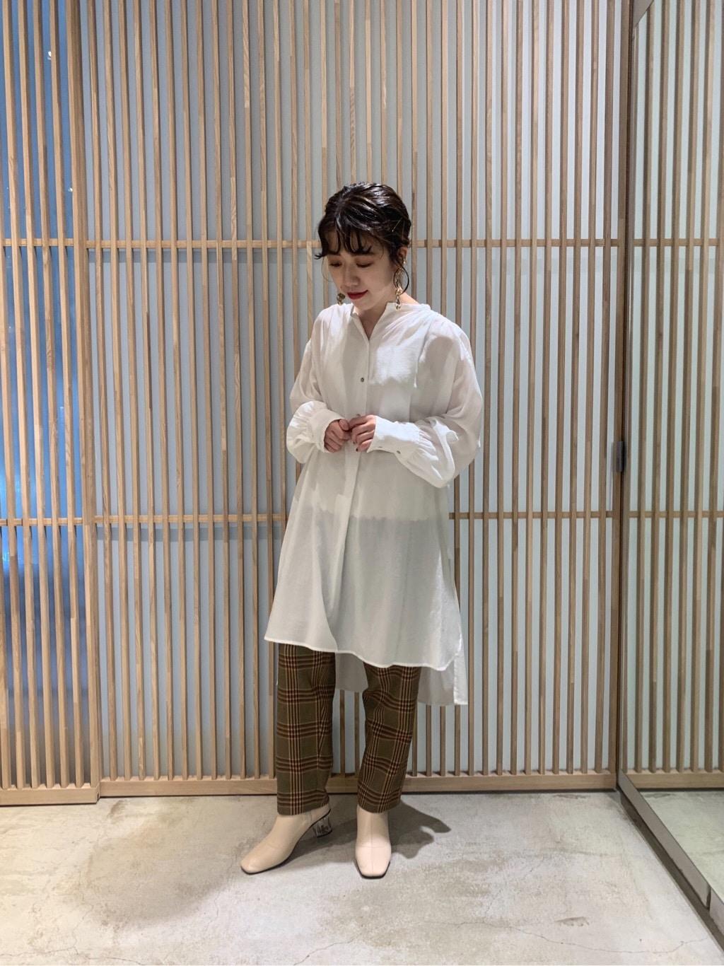 note et silence. ルクア大阪 身長:152cm 2019.10.16