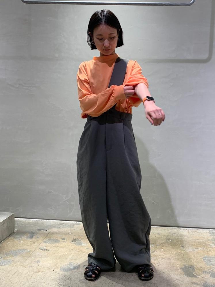 note et silence. ルミネ新宿 身長:158cm 2020.08.15