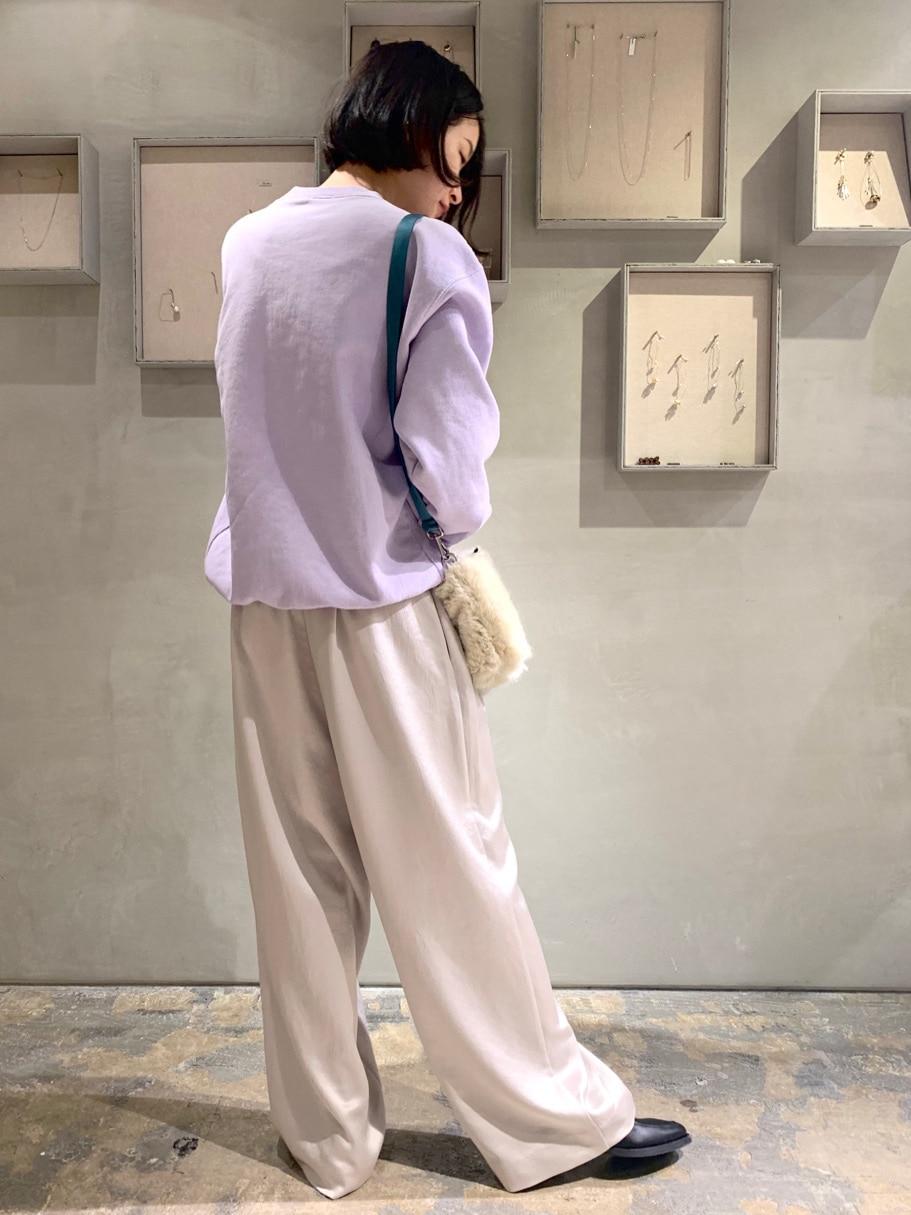 note et silence. ルミネ新宿 身長:158cm 2020.12.04