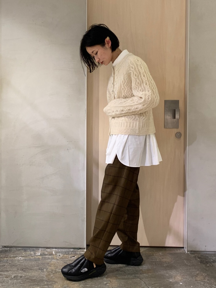 note et silence. ルミネ新宿 身長:158cm 2020.10.30