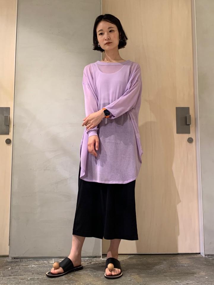 note et silence. ルミネ新宿 身長:158cm 2020.07.21