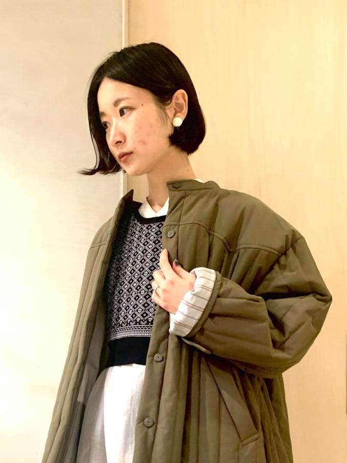 note et silence. ルミネ新宿 身長:158cm 2020.11.12