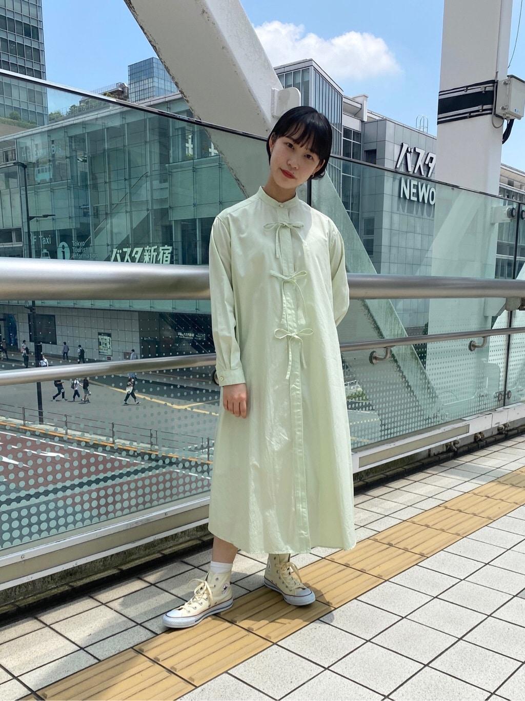 l'atelier du savon 新宿ミロード 身長:159cm 2020.06.12