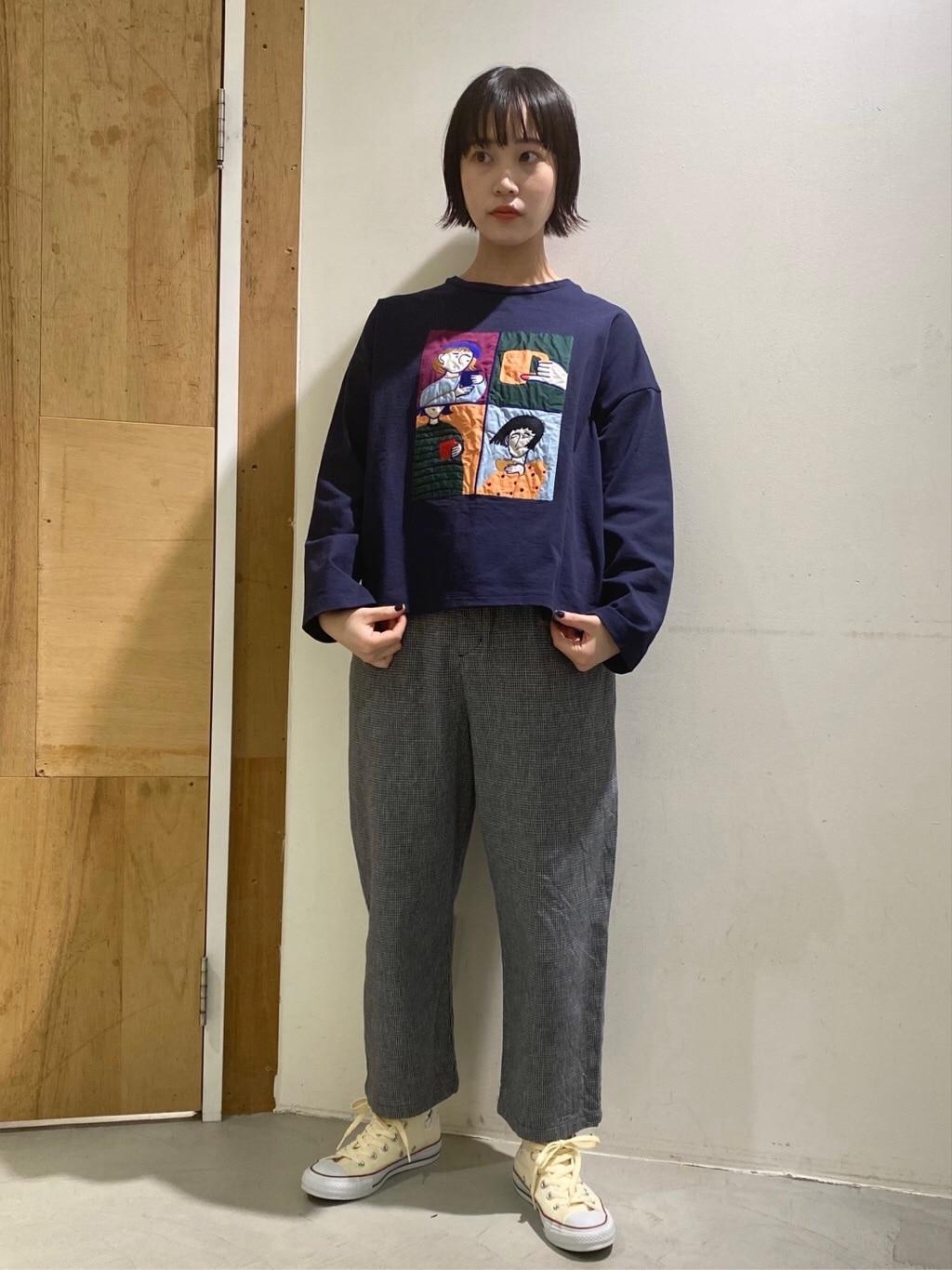 l'atelier du savon 新宿ミロード 身長:159cm 2021.02.09