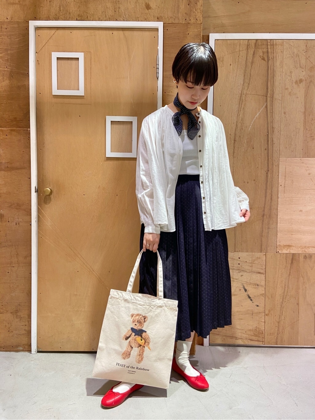 l'atelier du savon 新宿ミロード 身長:159cm 2020.09.01