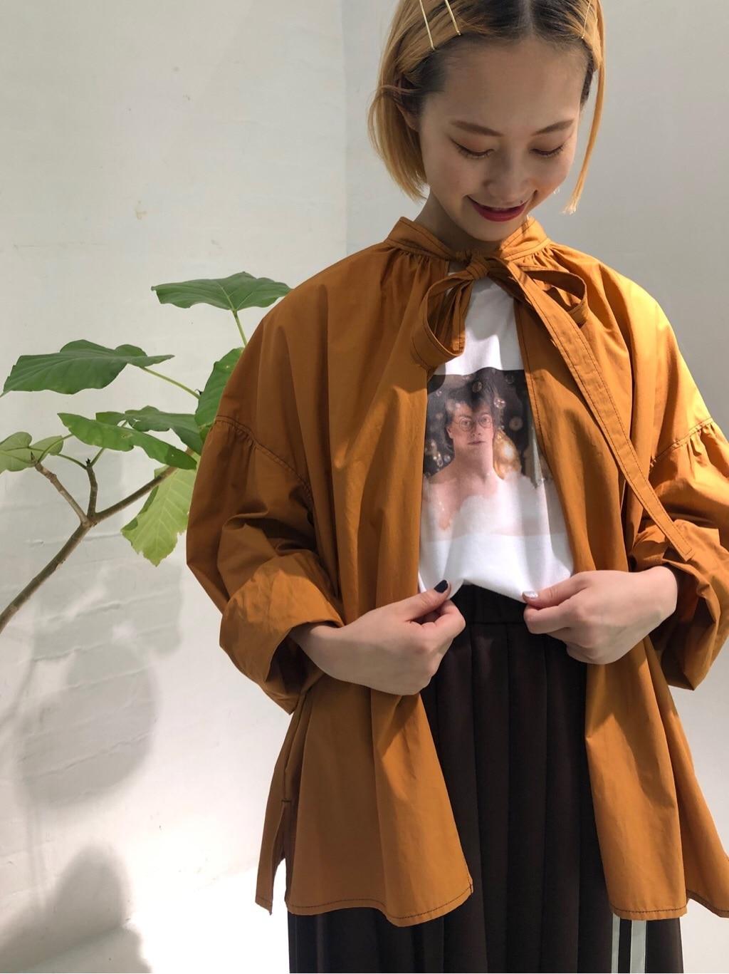 l'atelier du savon ラフォーレ原宿 身長:159cm 2019.07.17