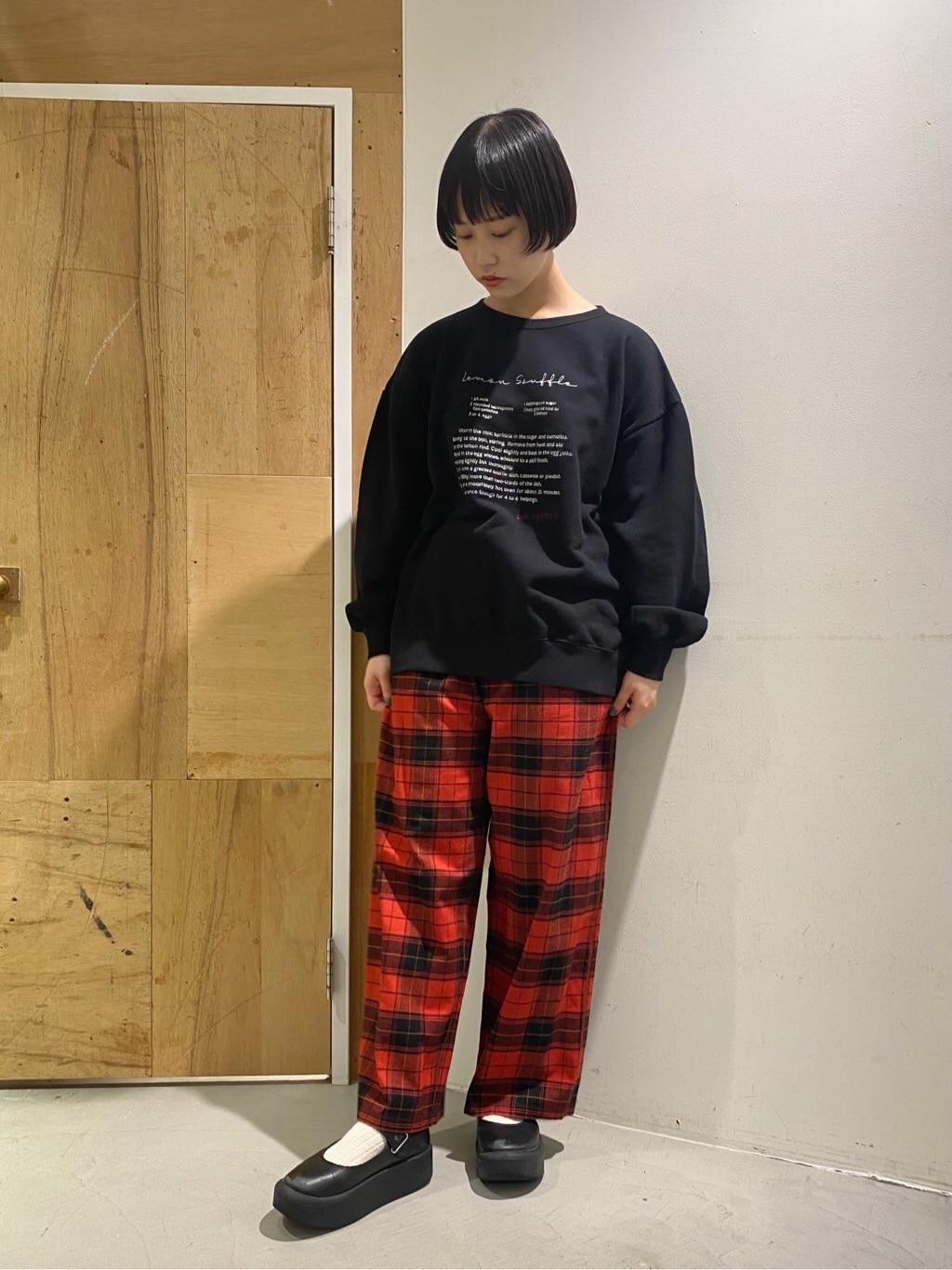 l'atelier du savon 新宿ミロード 身長:159cm 2020.12.10