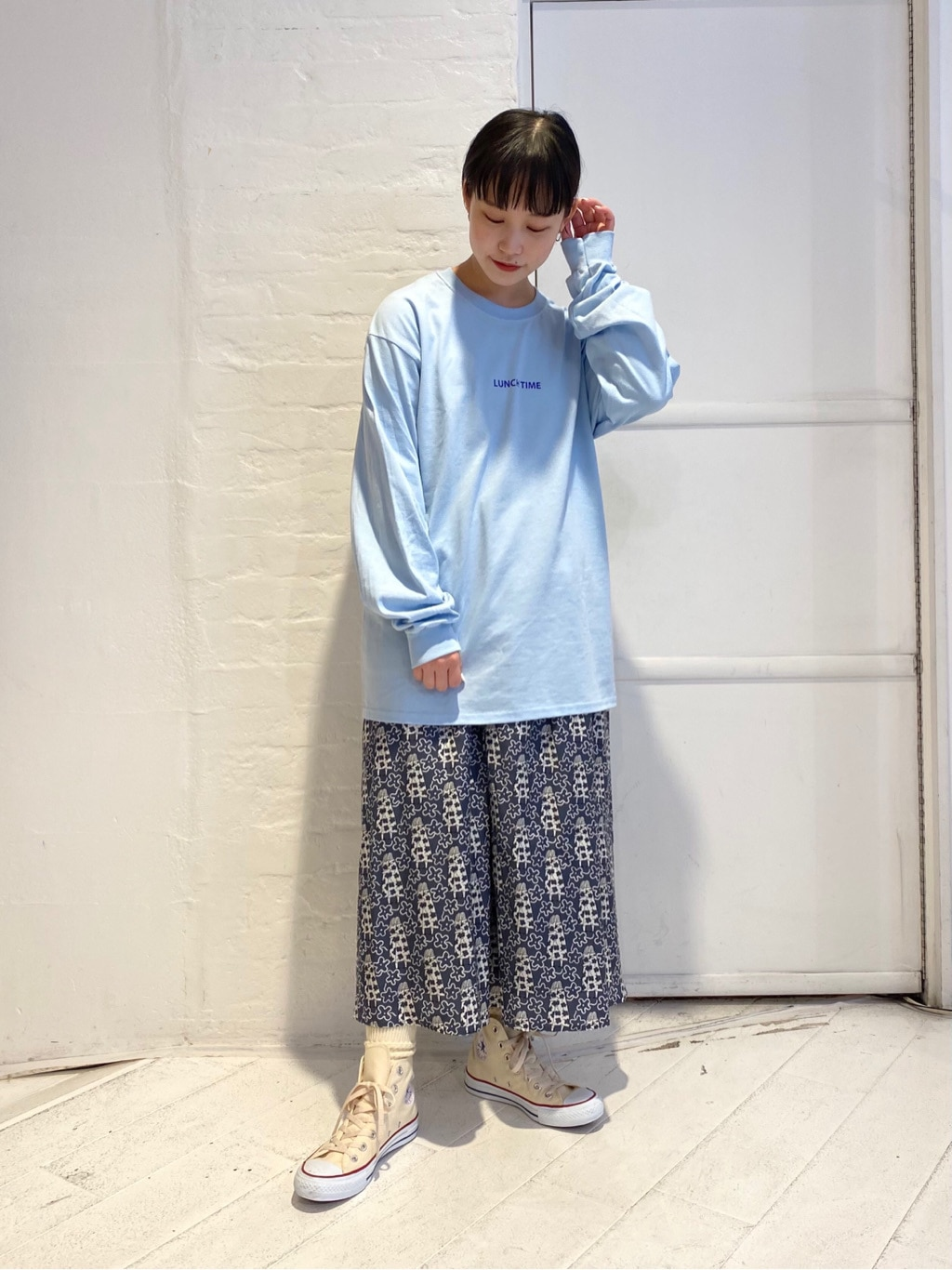 l'atelier du savon 新宿ミロード 身長:159cm 2021.03.03