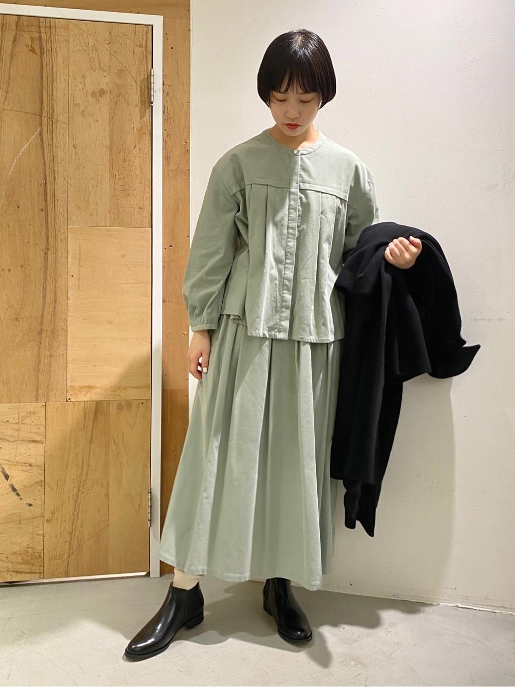l'atelier du savon 新宿ミロード 身長:159cm 2020.11.13