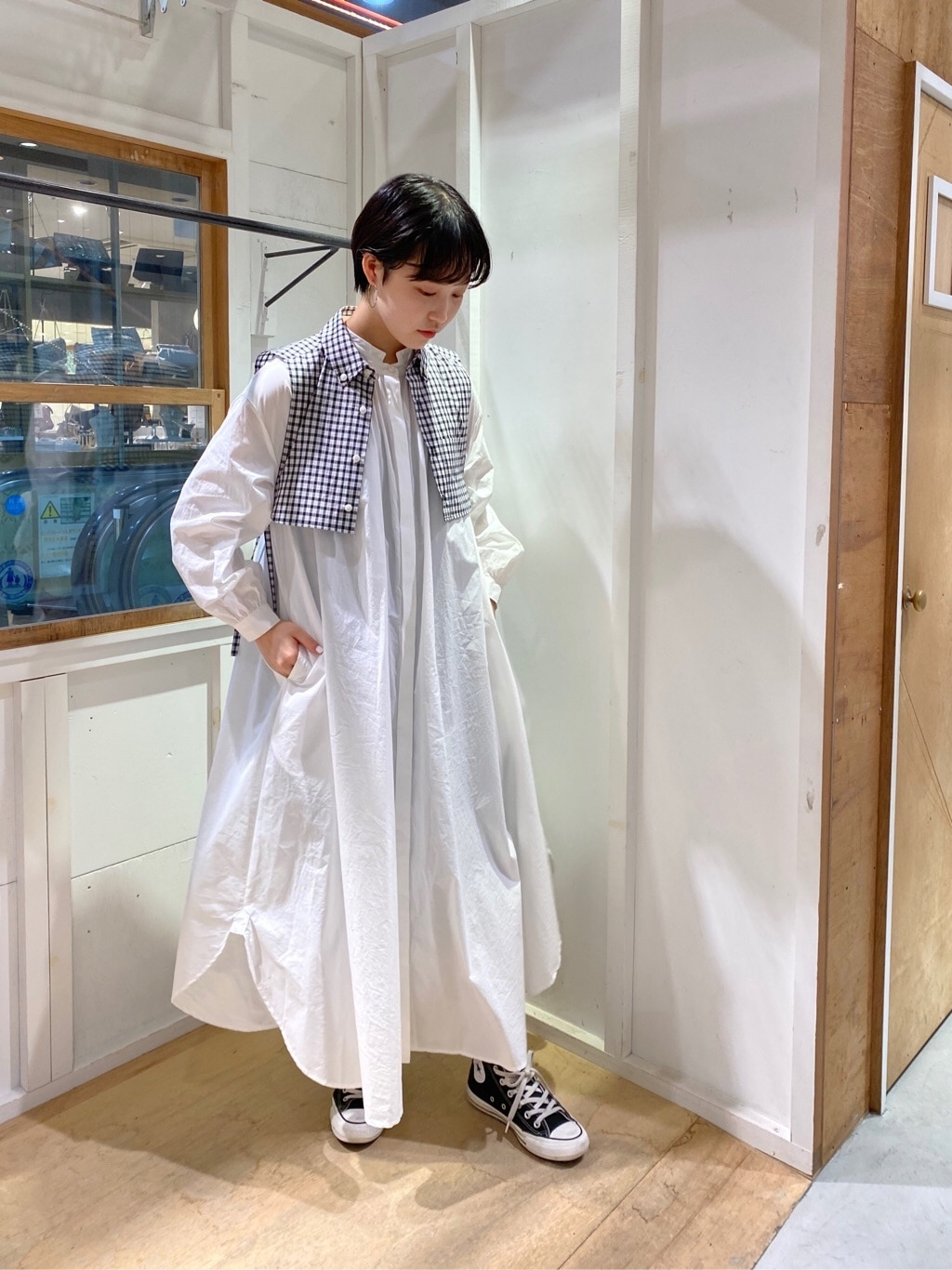 l'atelier du savon 新宿ミロード 身長:159cm 2020.09.12