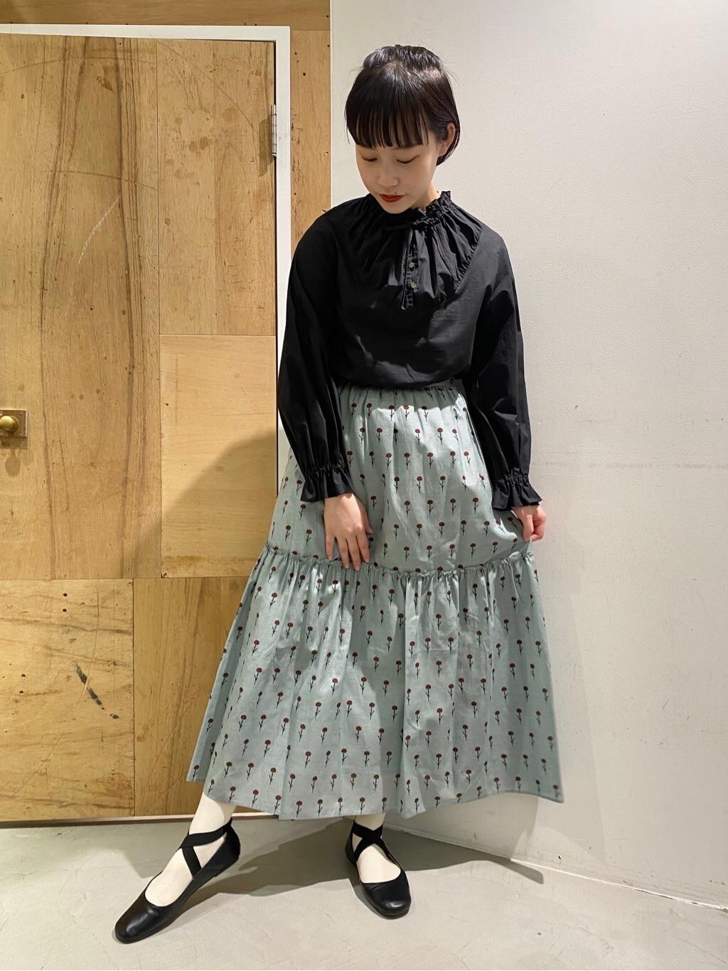 l'atelier du savon 新宿ミロード 身長:159cm 2020.12.28