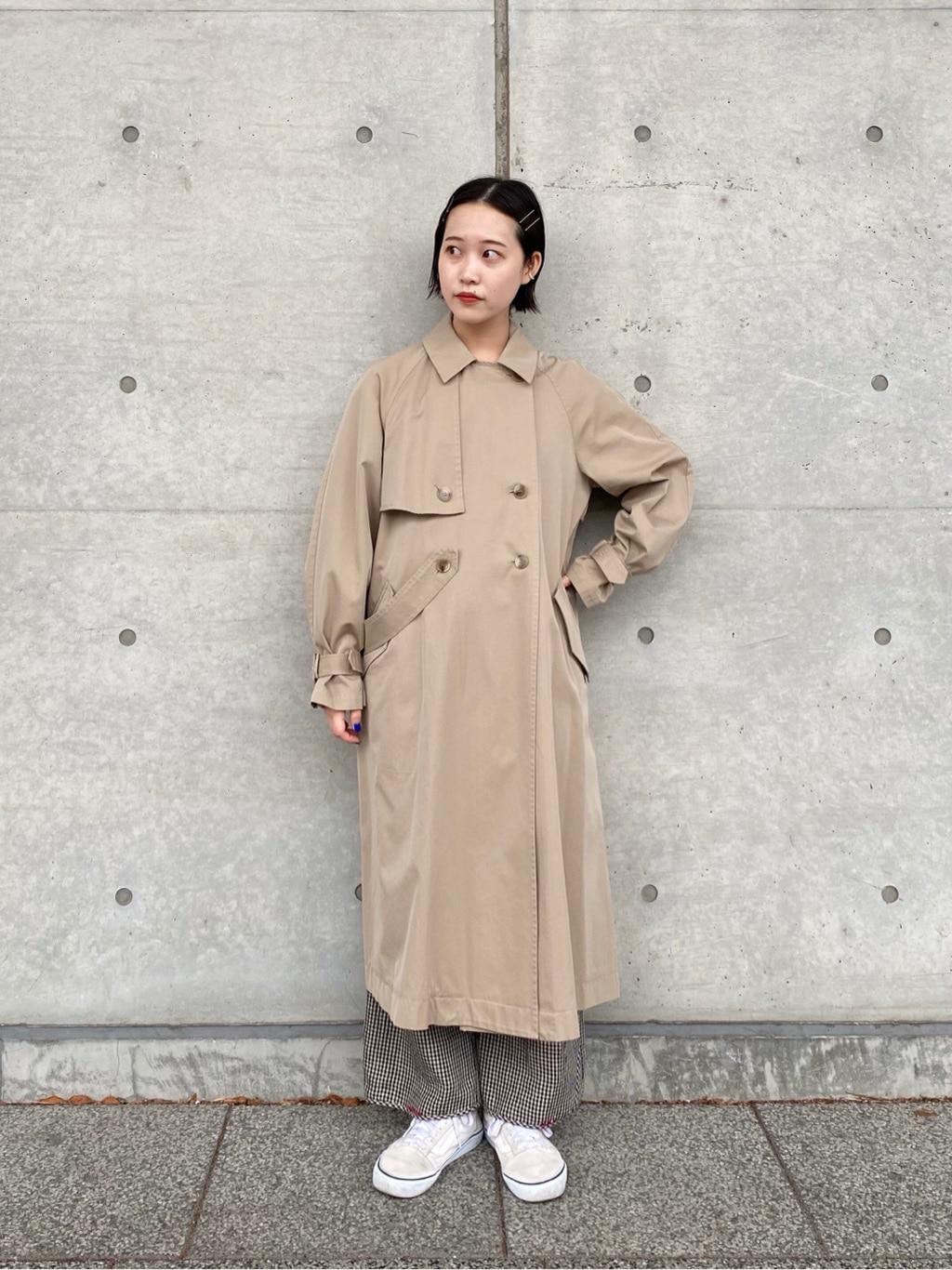 l'atelier du savon 新宿ミロード 身長:159cm 2021.04.15