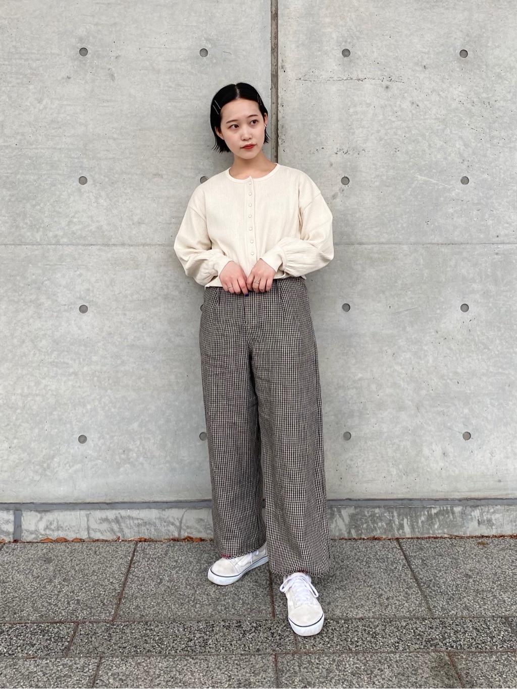 l'atelier du savon 新宿ミロード 身長:159cm 2021.04.14