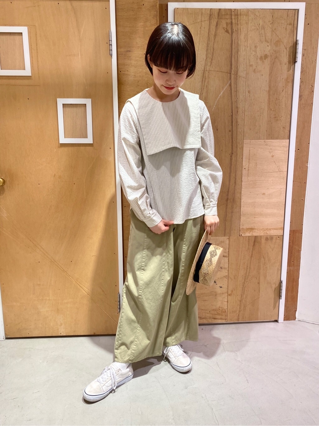 l'atelier du savon 新宿ミロード 身長:159cm 2020.05.16