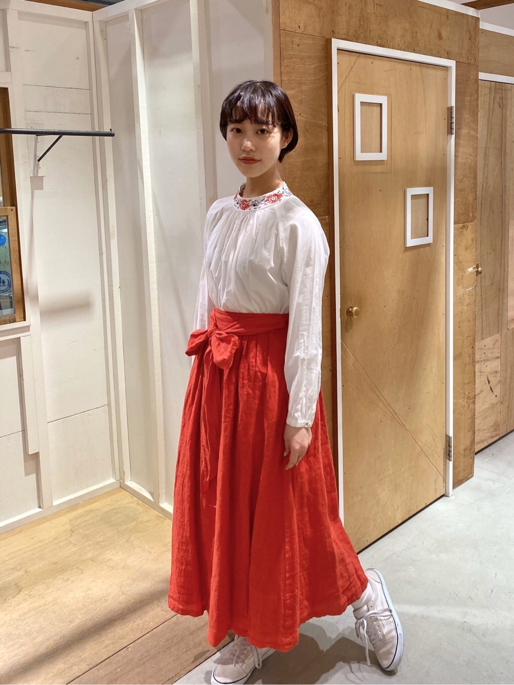 l'atelier du savon 新宿ミロード 身長:159cm 2020.03.29