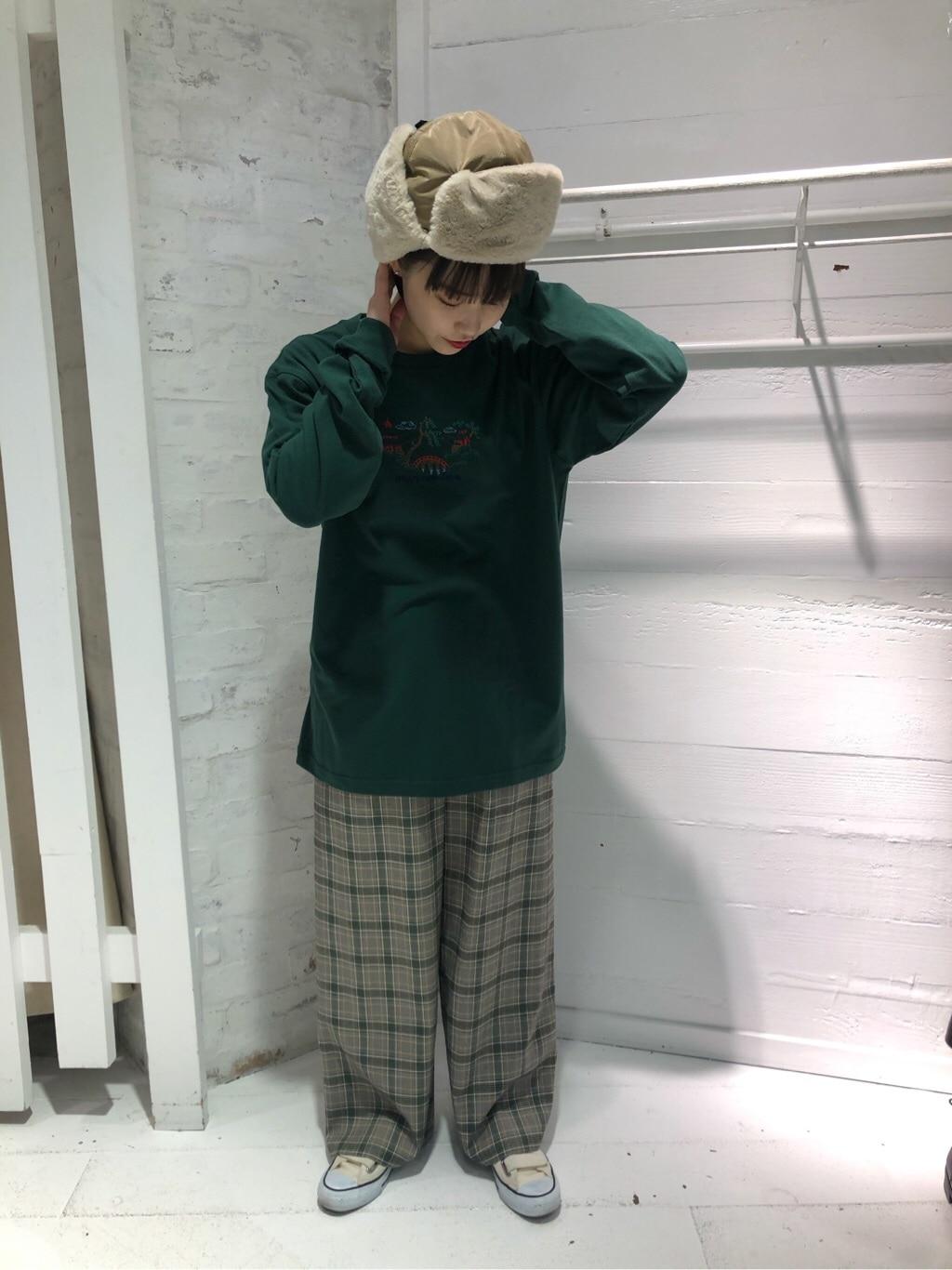l'atelier du savon ラフォーレ原宿 身長:159cm 2019.12.20
