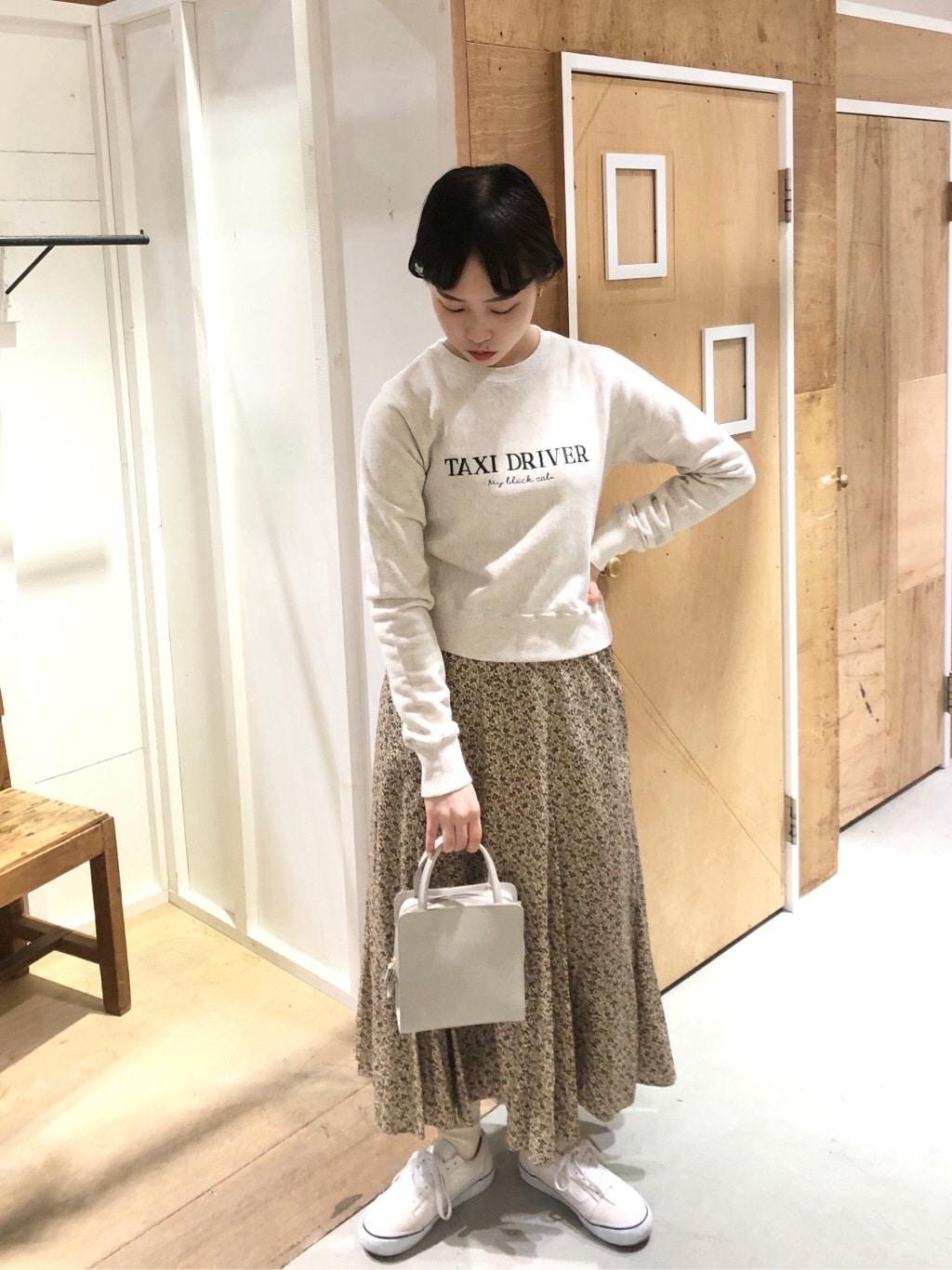 l'atelier du savon 新宿ミロード 身長:159cm 2020.03.23