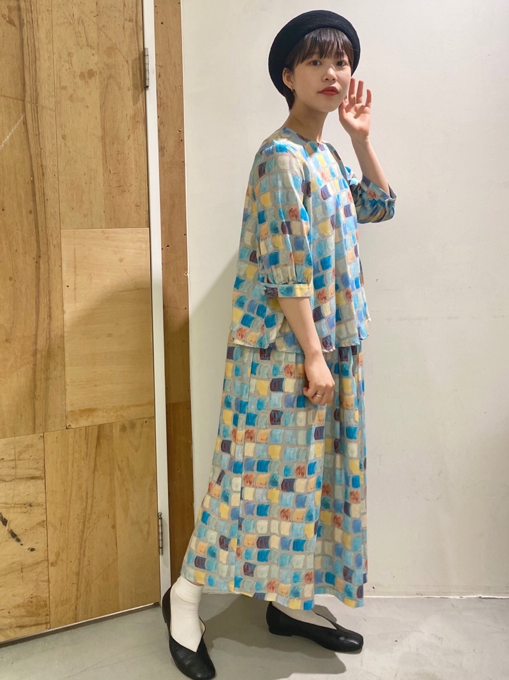 l'atelier du savon 新宿ミロード 身長:159cm 2020.06.17