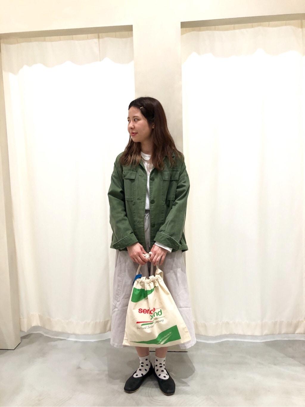 AMB SHOP CHILD WOMAN CHILD WOMAN , PAR ICI ルミネ横浜 身長:160cm 2020.03.25