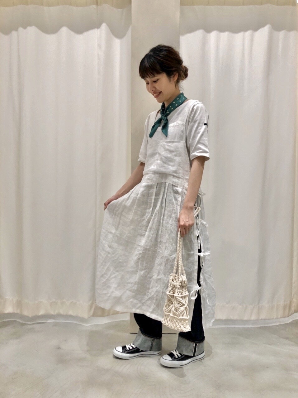 AMB SHOP CHILD WOMAN CHILD WOMAN , PAR ICI ルミネ横浜 身長:160cm 2020.06.09