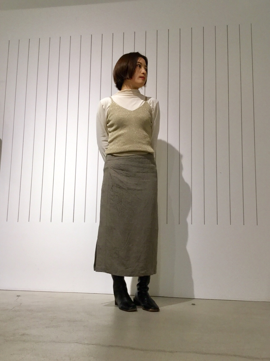 note et silence. 京都路面 身長:150cm 2020.02.15