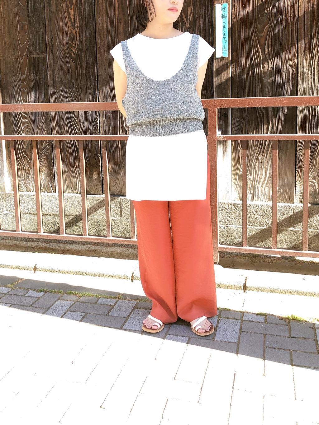 note et silence. 京都路面 身長:150cm 2020.06.14