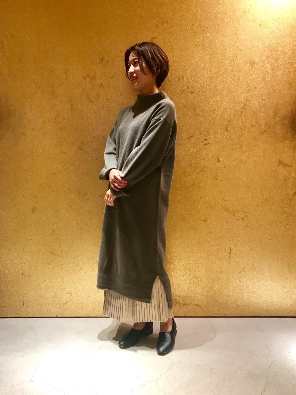 note et silence. 京都路面 身長:150cm 2019.10.15