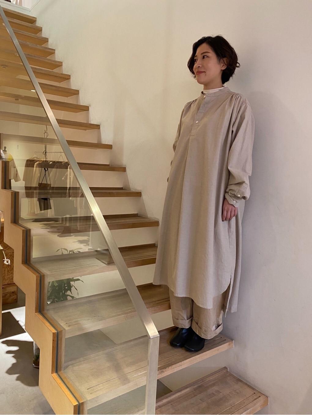 note et silence. 京都路面 身長:150cm 2019.12.12