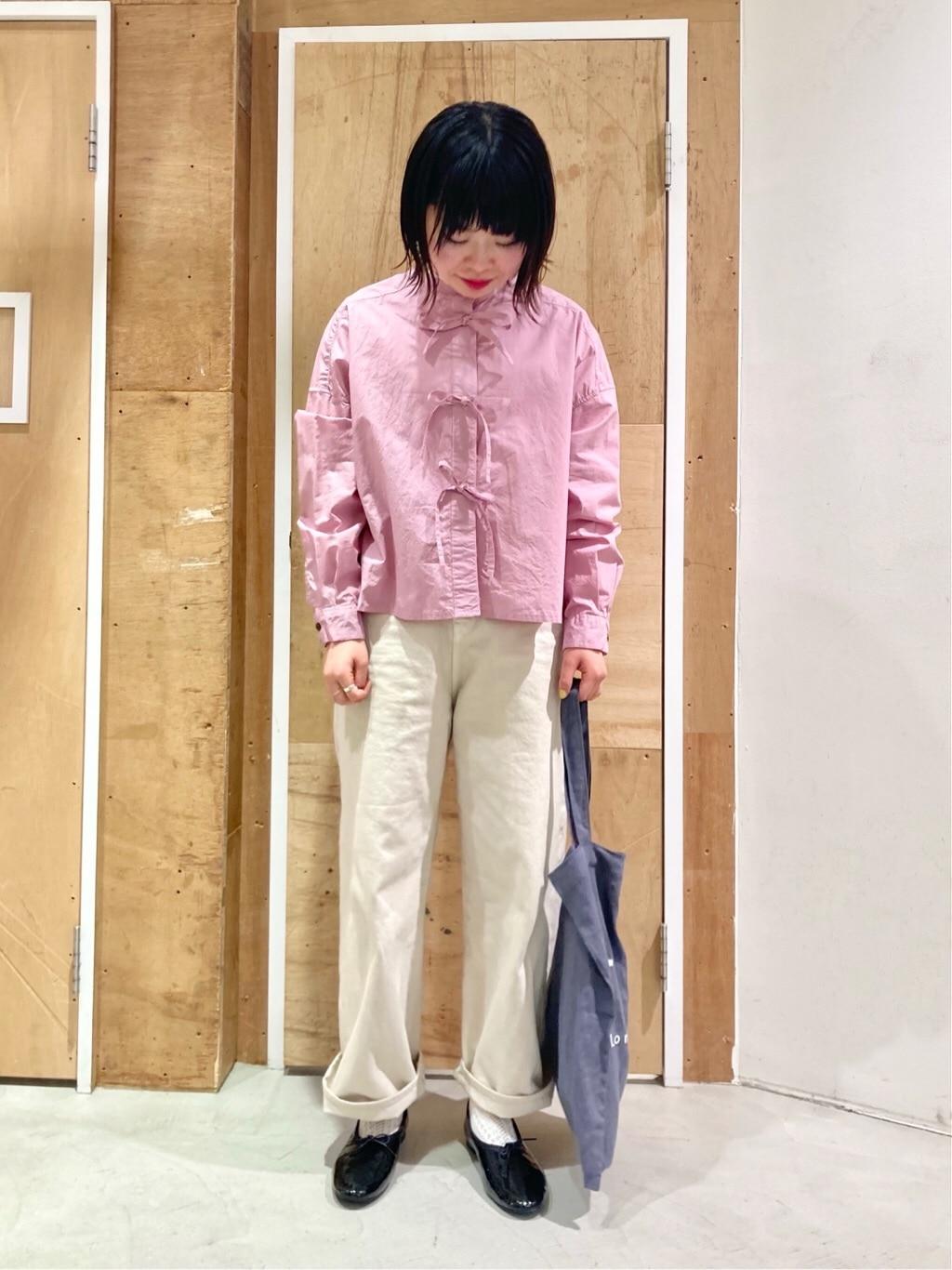 l'atelier du savon 新宿ミロード 身長:153cm 2021.03.11