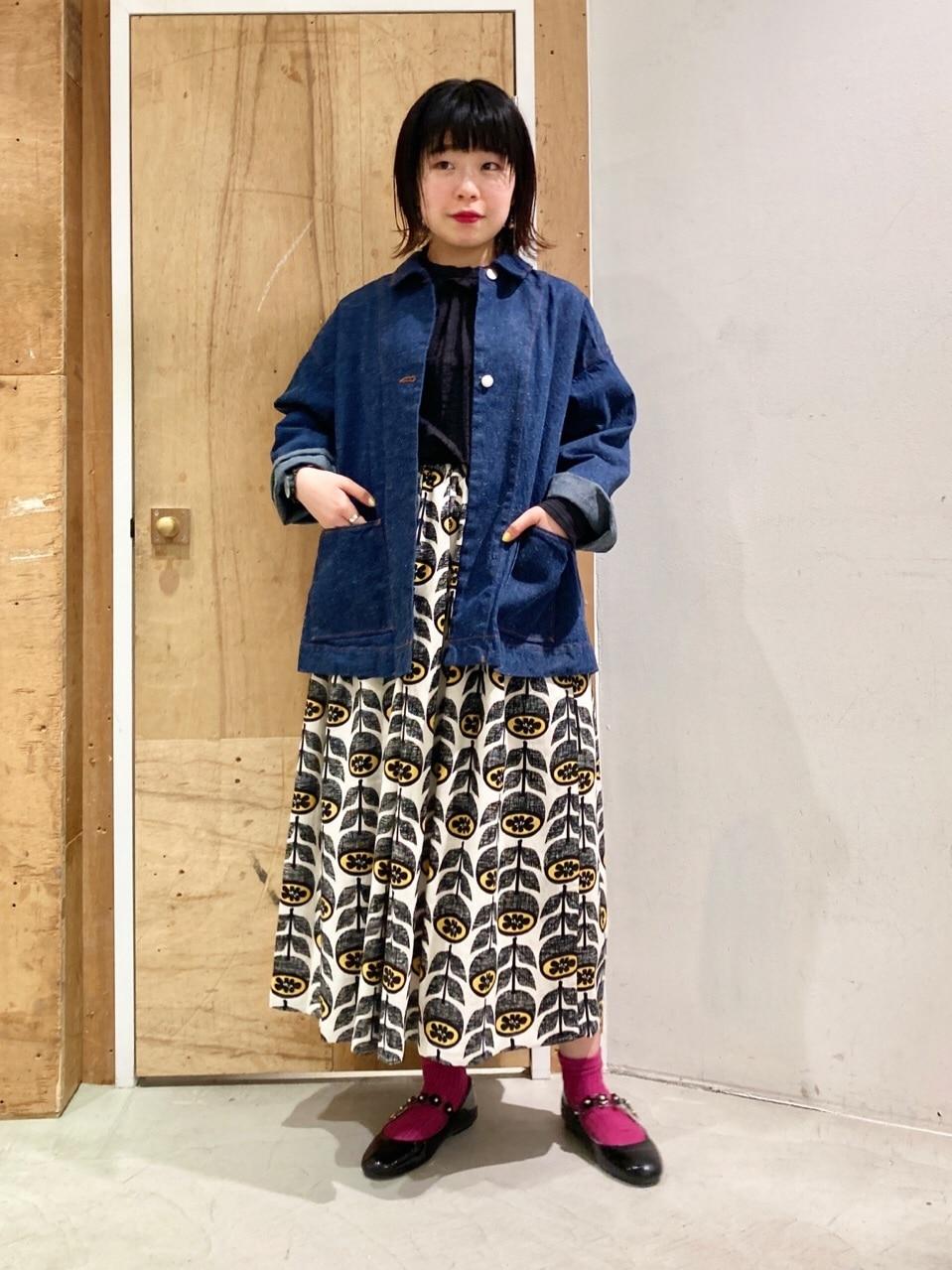 l'atelier du savon 新宿ミロード 身長:153cm 2021.03.27