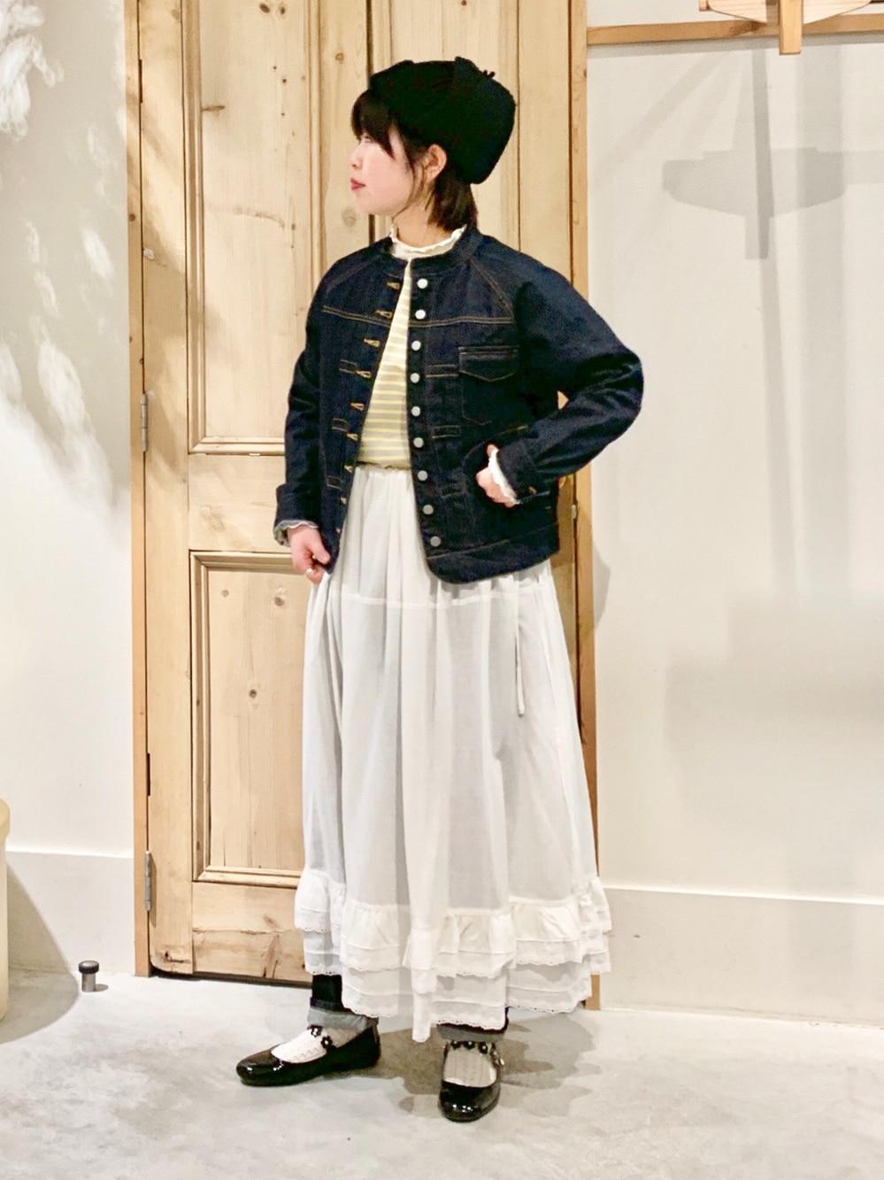 Malle chambre de charme 調布パルコ 身長:153cm 2021.01.15