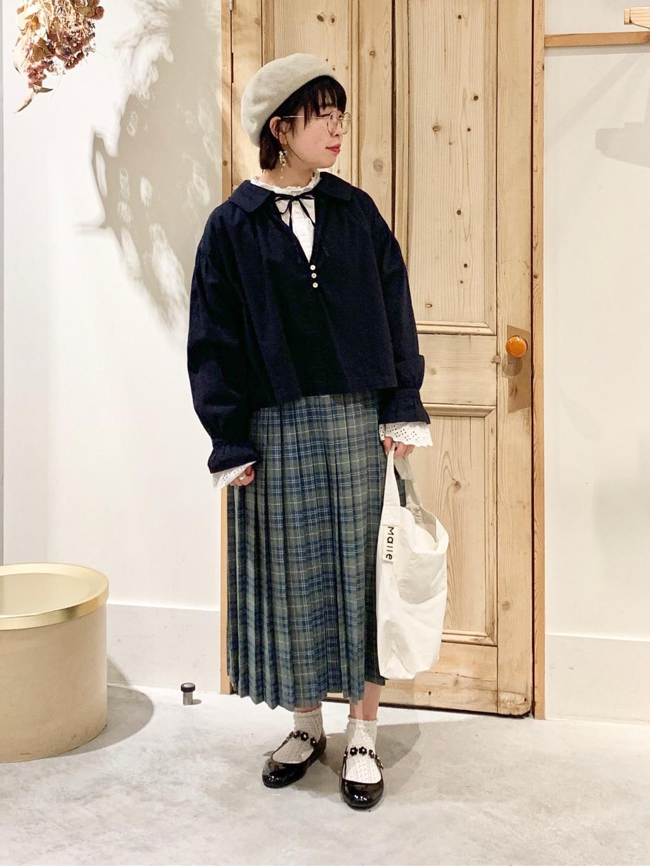 Malle chambre de charme 調布パルコ 身長:153cm 2020.12.28