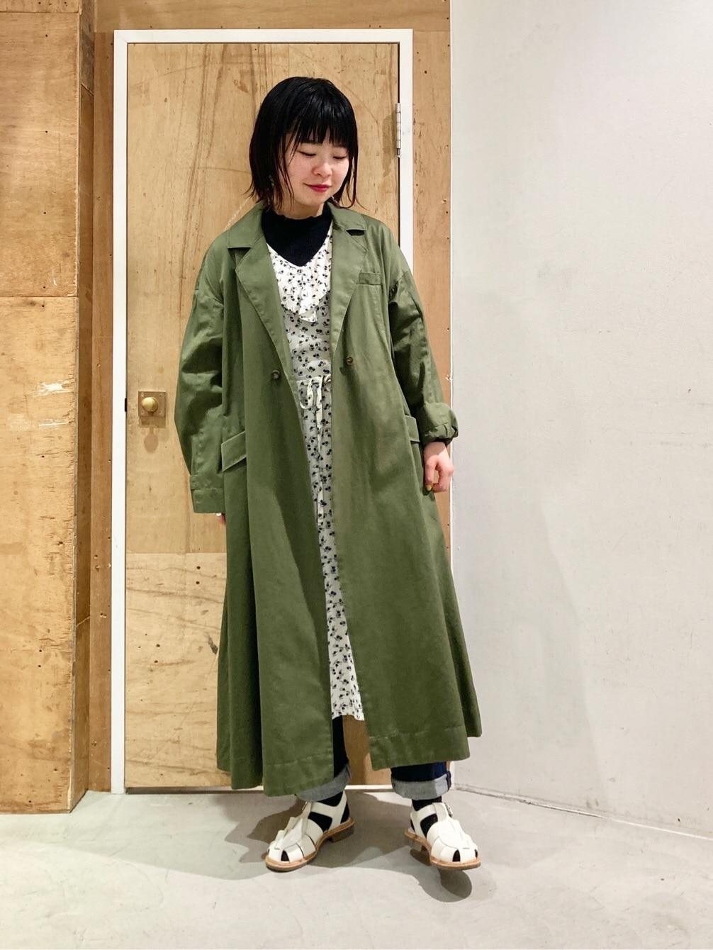 l'atelier du savon 新宿ミロード 身長:153cm 2021.03.19