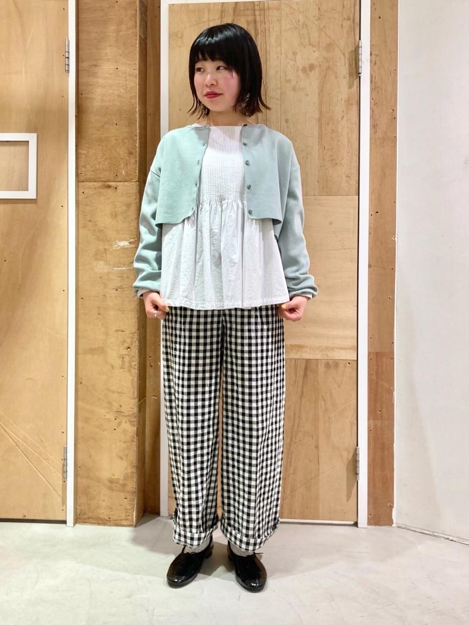 l'atelier du savon 新宿ミロード 身長:153cm 2021.04.05
