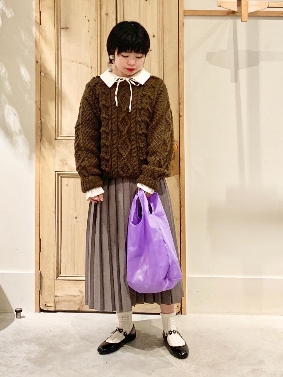 Malle chambre de charme 調布パルコ 身長:154cm 2020.12.16