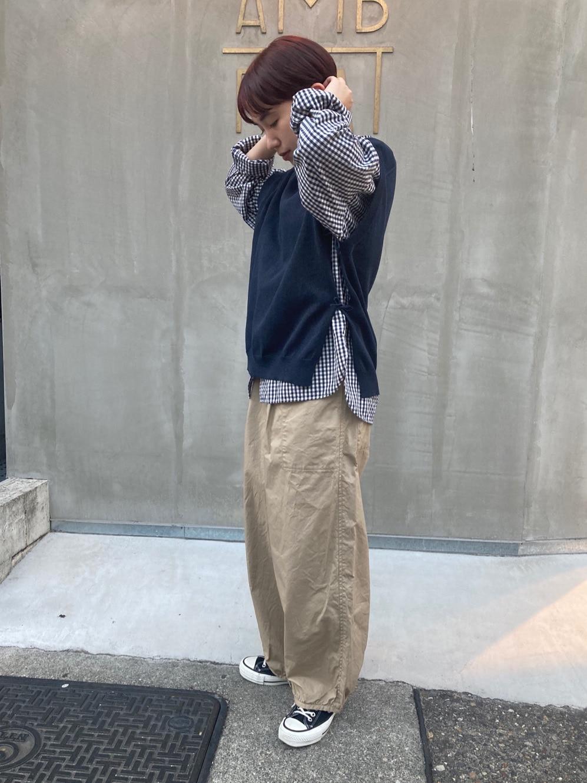 - PAR ICI FLAT AMB 名古屋栄路面 身長:156cm 2021.03.11