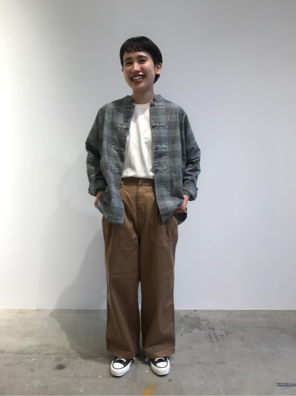 - PAR ICI FLAT AMB 名古屋栄路面 身長:156cm 2020.08.19