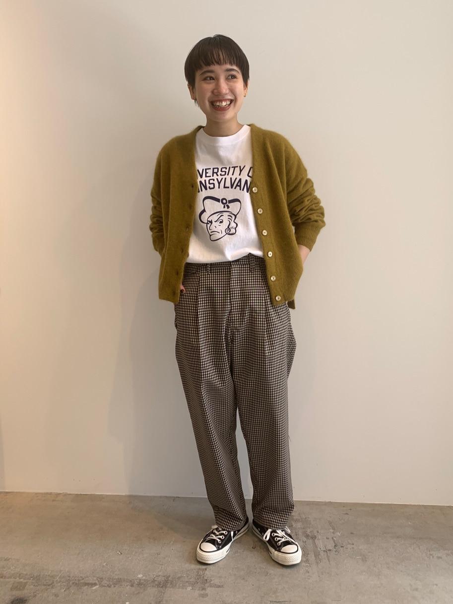 - PAR ICI FLAT AMB 名古屋栄路面 身長:156cm 2020.09.14