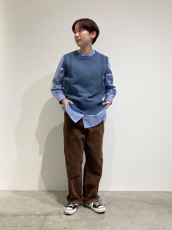 - PAR ICI FLAT AMB 名古屋栄路面 身長:156cm 2020.12.11